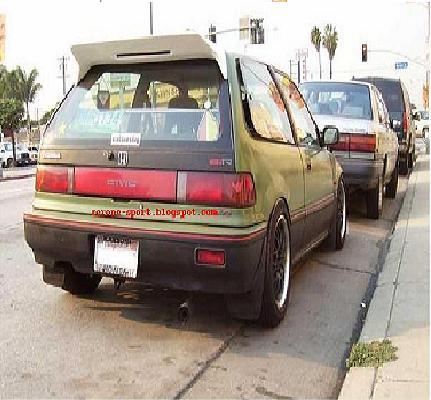 Honda Civic Ef Spoiler