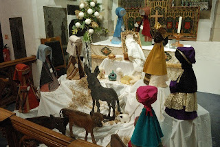 St Giles Nativity Scene