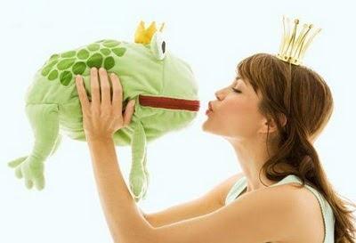 Descubra se o príncipe encantado não é um sapo da lagoa