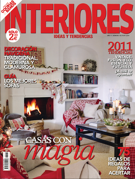El blog de dmc noviembre 2010 for Revistas decoracion interiores