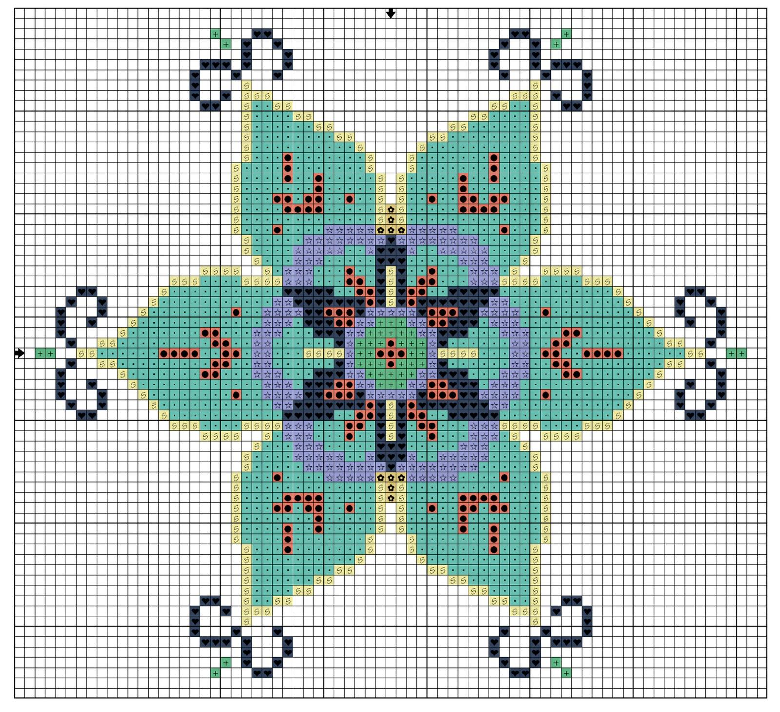 El blog de dmc aprende punto de cruz - Videos de punto de cruz ...