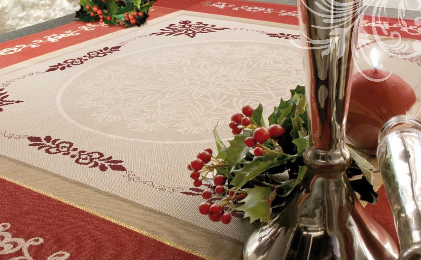 El blog de dmc nueva colecci n de manteles de navidad - Manteles de navidad ...