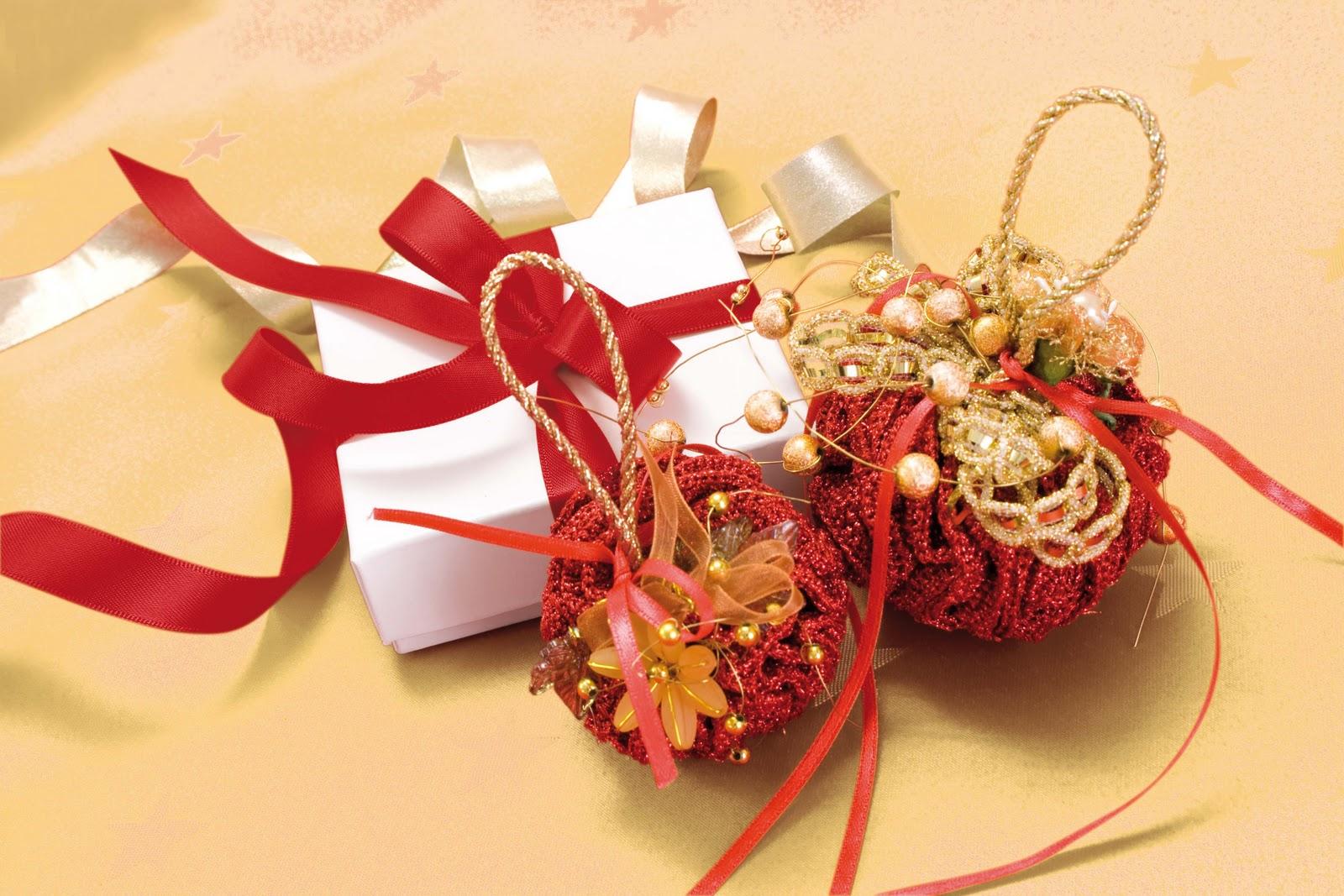 El blog de dmc tutorial para hacer bolas de navidad en - Hacer bolas de navidad ...