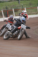 Slideways on the ole XR750 !