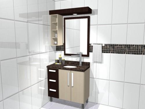 Casa da Gloria Ideias para os armarios dos Banheiros -> Armario De Banheiro Simples