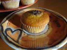 Muffins arancia e fondente