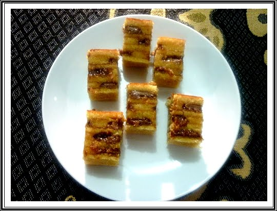 Resipi Kek Lapis INDIA ini Ma perolehi dari seorang insan di Internet
