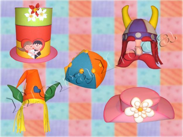 Sombreros locos infantiles - Imagui