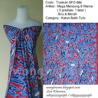 batik mega mendung cirebon tulis