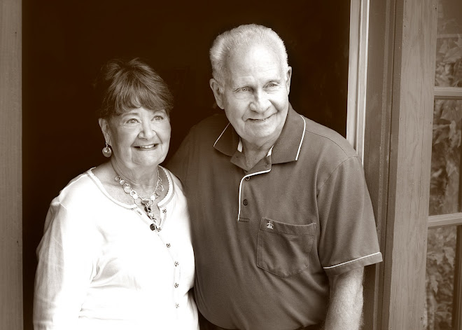 My Mom and Stepdad Paul at the residence !
