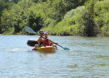 Kayaking on the Gaudalupe River(8 miles) with my daughter!