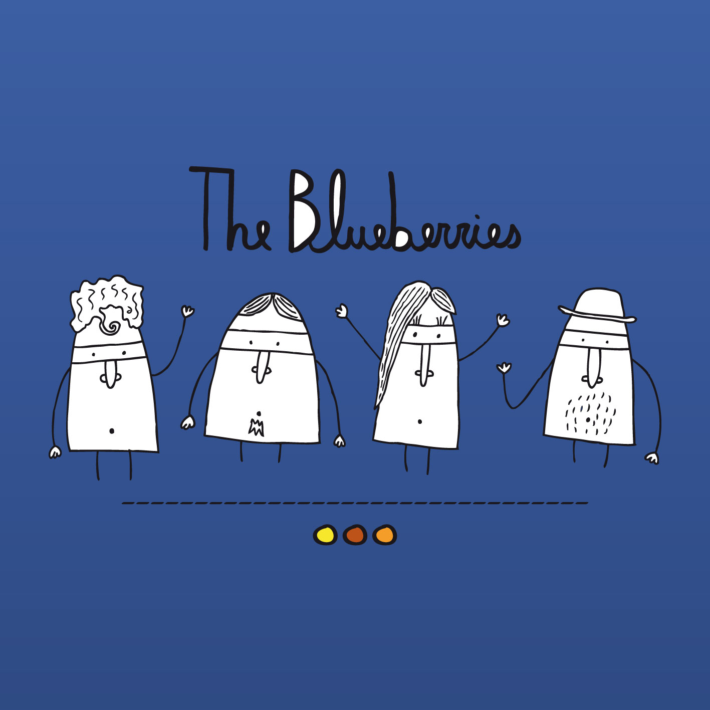 "The Blueberries: el ""do it yourself"" uruguayo"