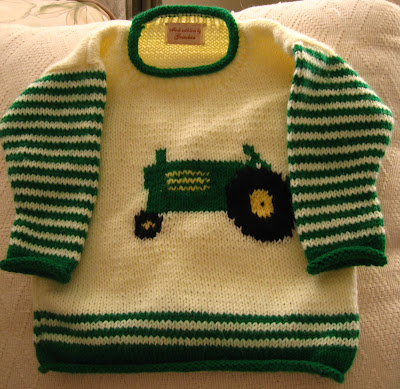 jakobtractor1 Intarsia Knitting Patterns