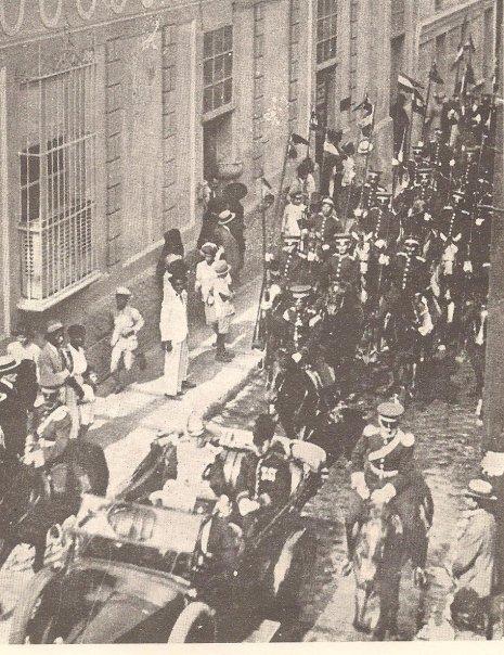 Histórica foto de la colección del Dr. Enrique Arévalo