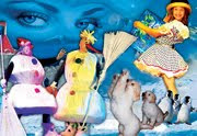 Театр Проспект — Новогоднее представление для детей Снежная сказка