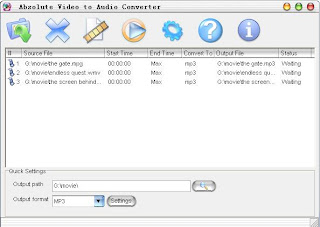 Absolute Video to Audio Converter+www.baixedetudogratis Absolute Video to Audio Converter v3.1.8