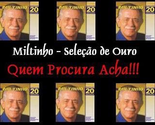 CD Miltinho - Seleção de Ouro - MPB