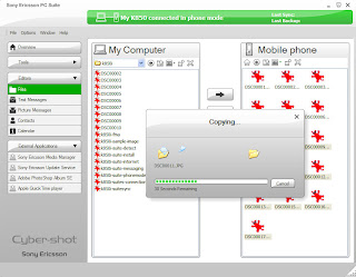 Sony+Ericsson+PC+Suite+4 Sony Ericsson PC Suite Vs. 4.010.00
