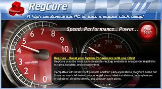 Download Gratis RegCure Vs. 1.5.2.7 + Patch