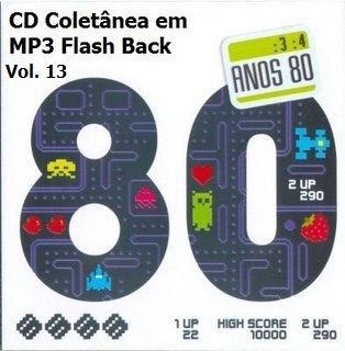 anos+80 CD Coletânea em MP3 Flash Back Raridade Vol. 13