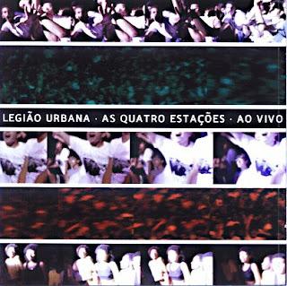 L U Capa CD Legião Urbana   As Quatro Estações Album Duplo   Ao Vivo