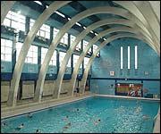 pja storytellers night early morning swim ForMounts Swimming Pool Northampton