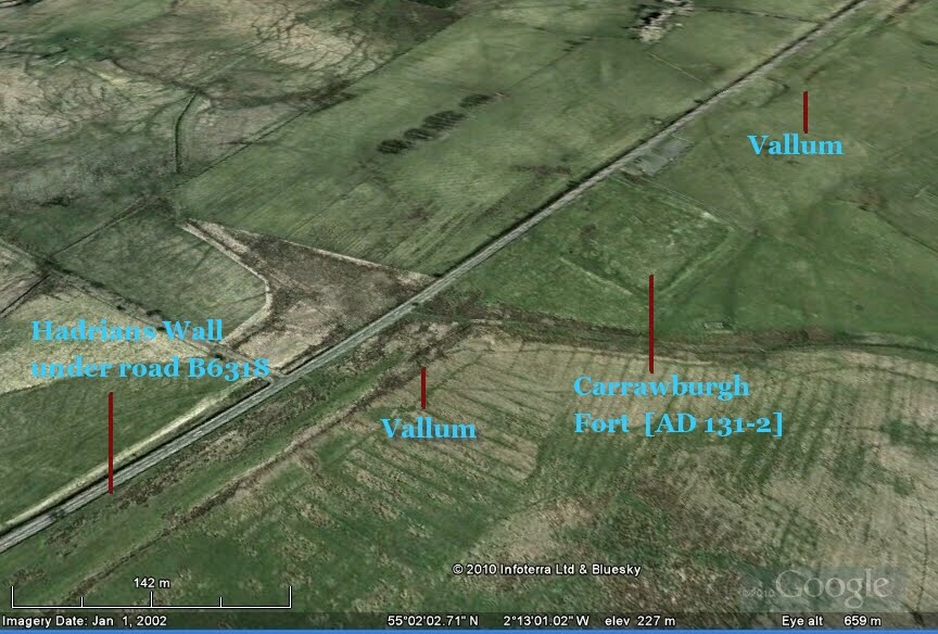 40 Reverse Engineering Vallum on additions with stone