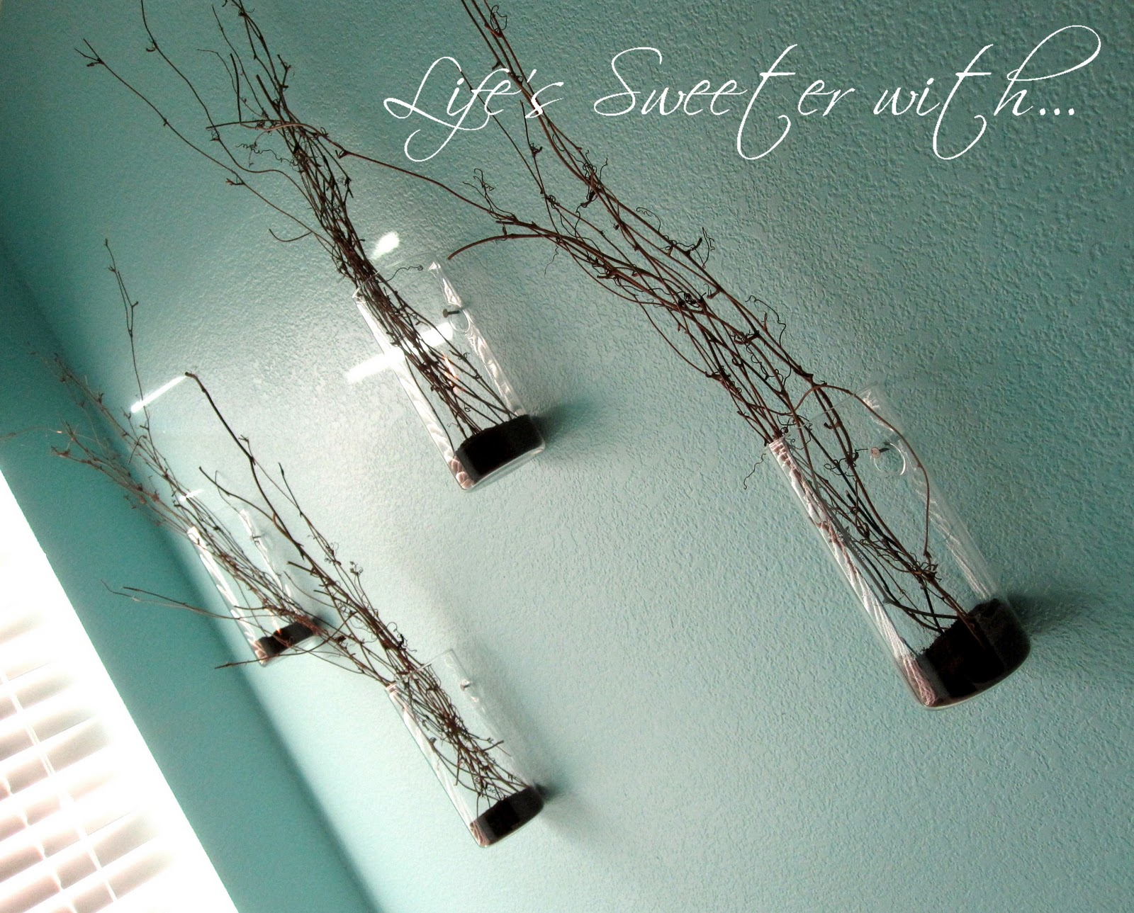 Lifes sweeter with chocolate wall mount vases wall mount vases reviewsmspy