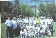 El Club Deportivo Saigon, A.C. de visita al club de futbol pumas de la UNAM  y Hugo Sanchez M.