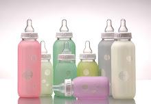 Siliskin Glass Baby Bottles