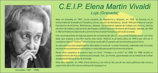 C.E.I.P. Elena Martín Vivaldi