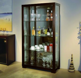 Modern house curio cabinet - Elegant contemporary curio cabinets furniture ...