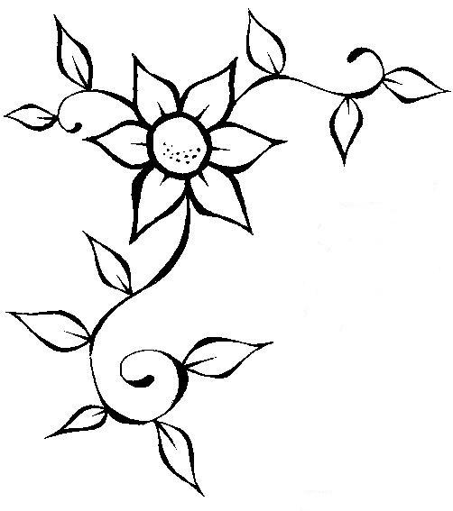 DESENHOS ALL PRINT: Flores para colorir e presentear sua mãe