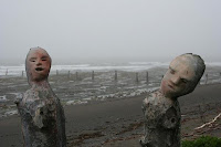 Troncs sculptés _ Gaspésie - Canada