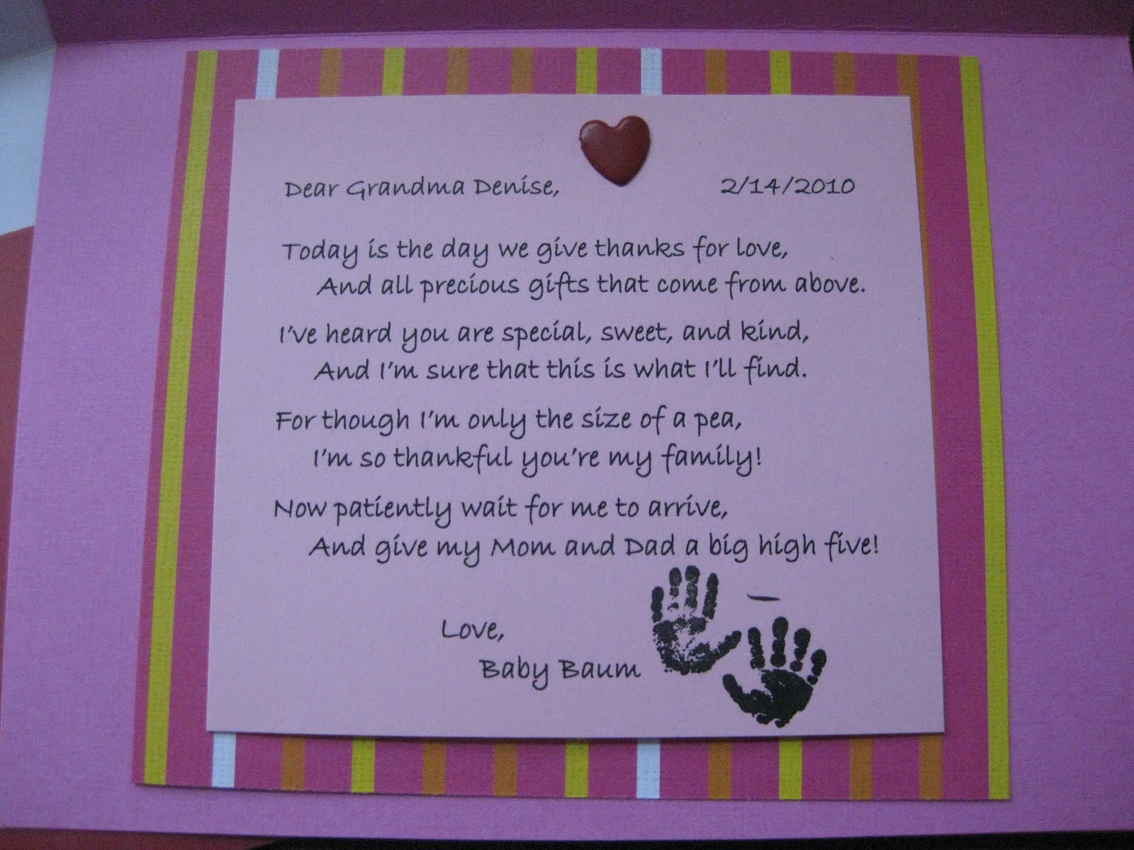Happy Birthday Grandma Poems From Baby on Funny Quotes About Parents