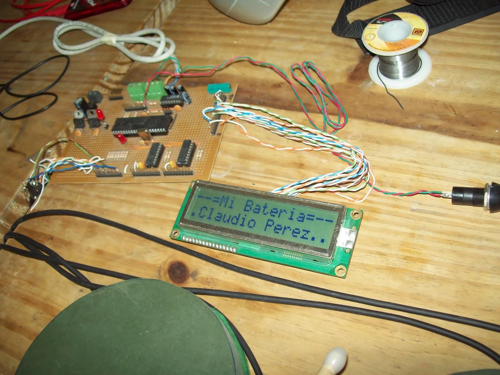 Mi primer bateria, como fabricarla tu mismo por pocos $$$