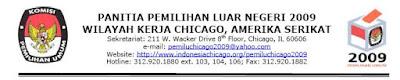 Klik untuk situs PEMILU Chicago 2009