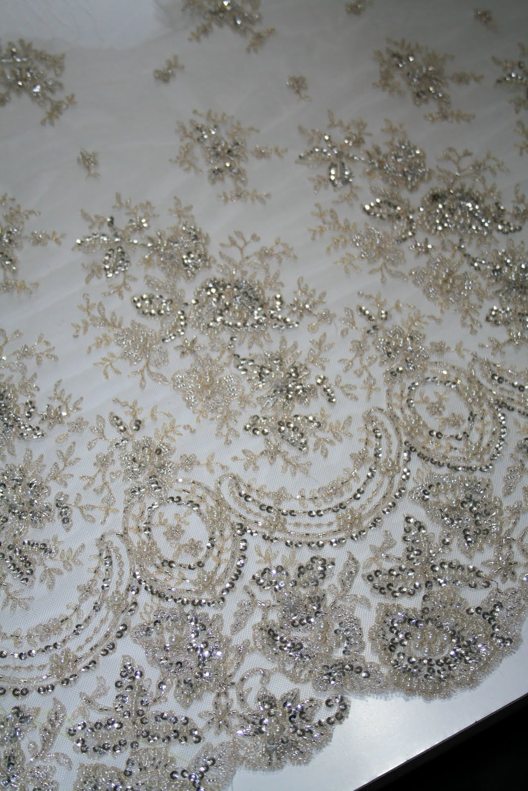 Viewing Gallery For - Vintage Lace Fabric