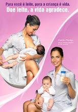 Doe Leite Materno, a vida agradece