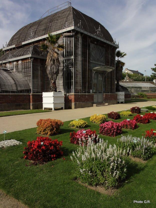jardins cosmopolites: Jardin des Plantes de Nantes, hier ...