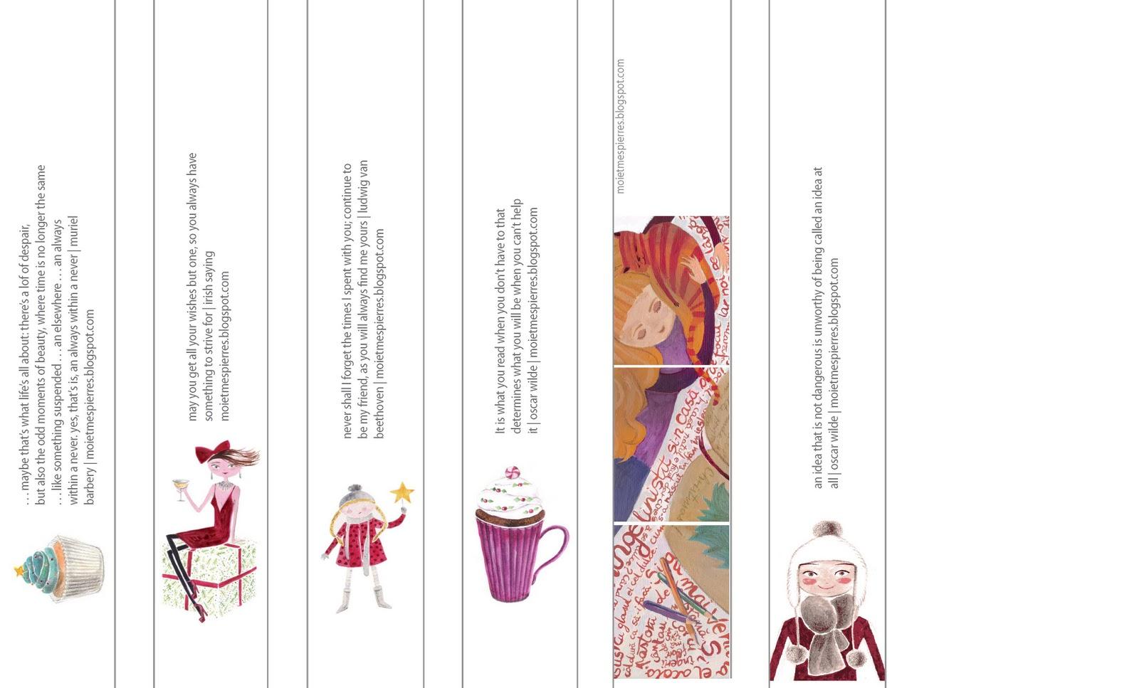 Adigs Graphic Design Portfolio Bookmarks Calendar Greeting Cards