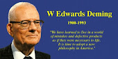W Edwards Deming  (1900-1993)