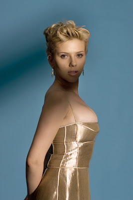 Busting Out of Scarlett Johansson 1