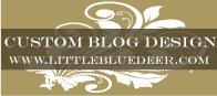 Highly recommend Little Blue Deer for blog and website designs.