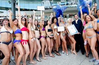 largest bikini parade