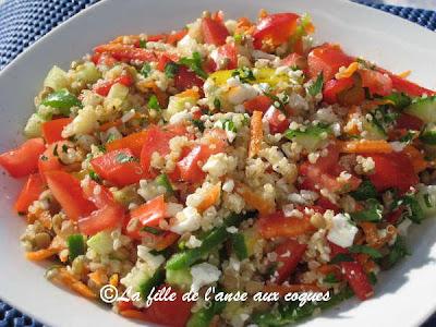 quinoa en salade