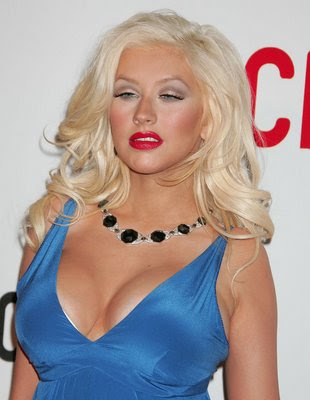 Christina Aguilera 'Amazed' by her growing Boobs