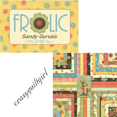 Moda FROLIC Fabric by Sandy Gervais