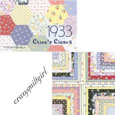 Moda 1933 Fabric by Chloe's Closet