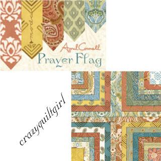 Moda PRAYER FLAG Fabric by April Cornell